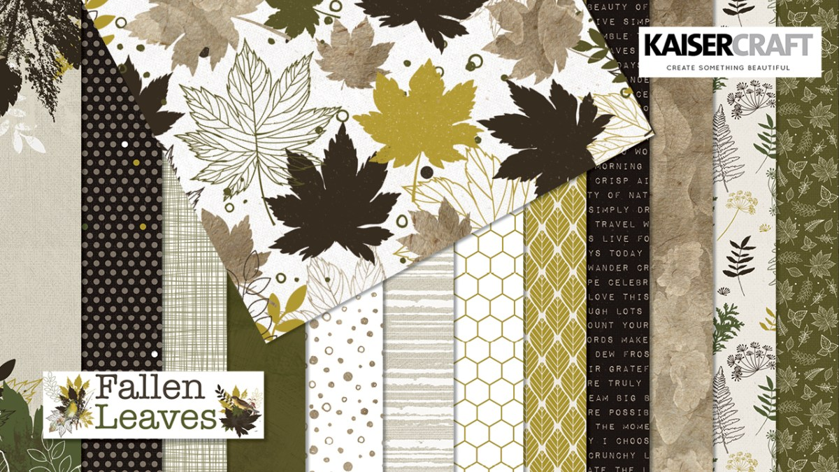 Fallen Leaves Collection and Coordinating Products