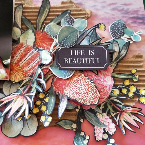Life is Beautiful – layout by Hetty Hall