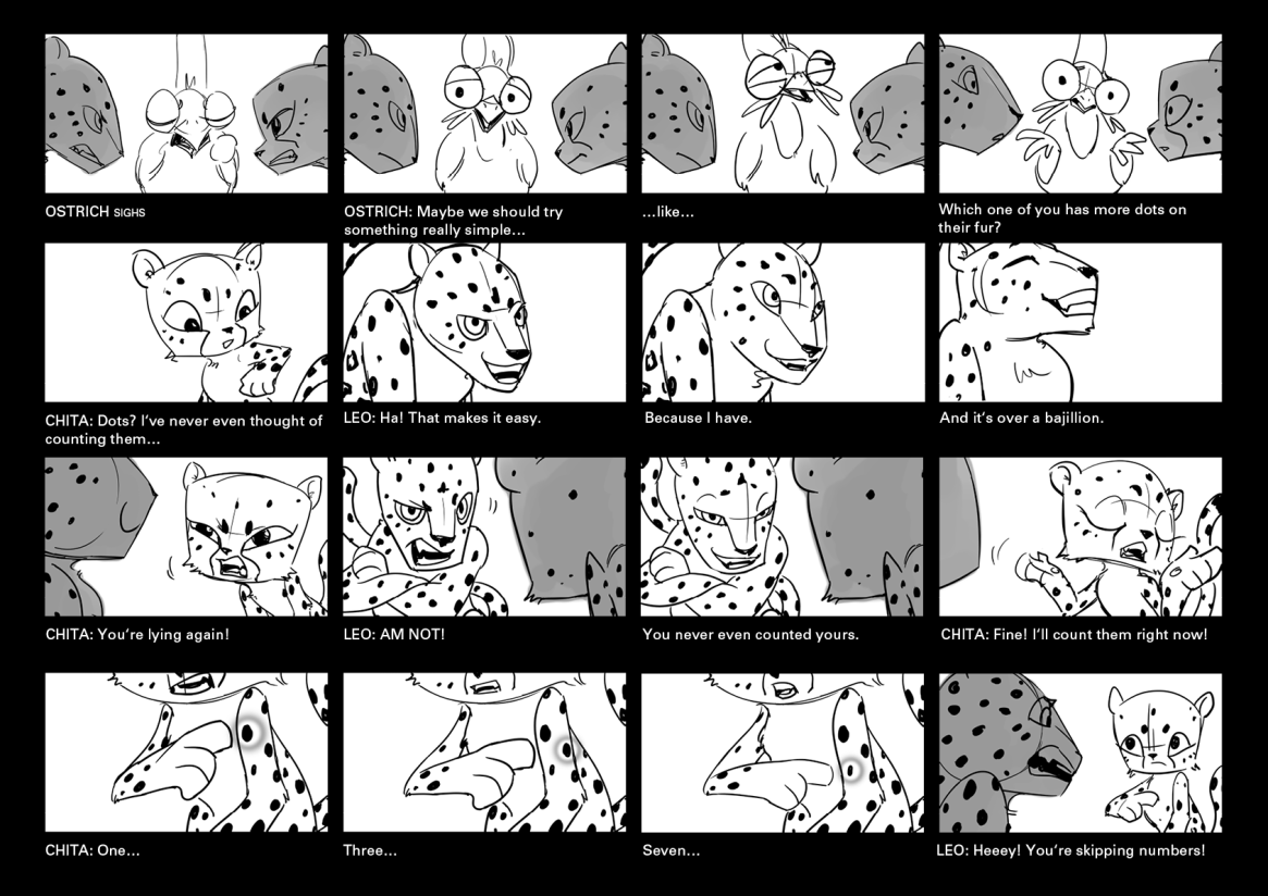 Lying Leopard, Cheating Cheetah - Page 7