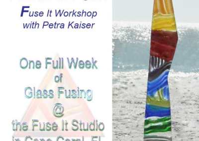 Fun In the Sun – Fuse It Workshop with Petra Kaiser