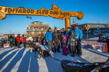 Iditarod Finish