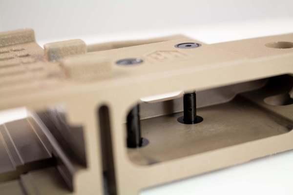 AR-15 Anti-Walk Pins V-Lock mold inserts