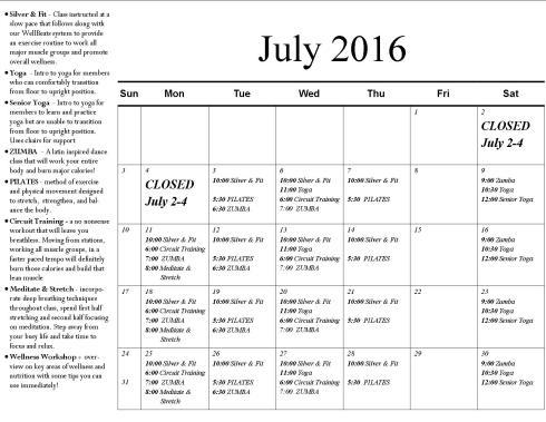 JULY '16