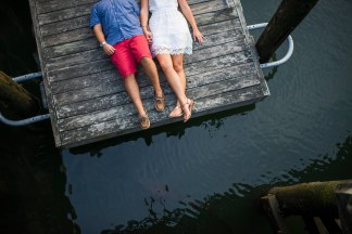 Kaitlyn Ferris New York Nautical Engagement Photography