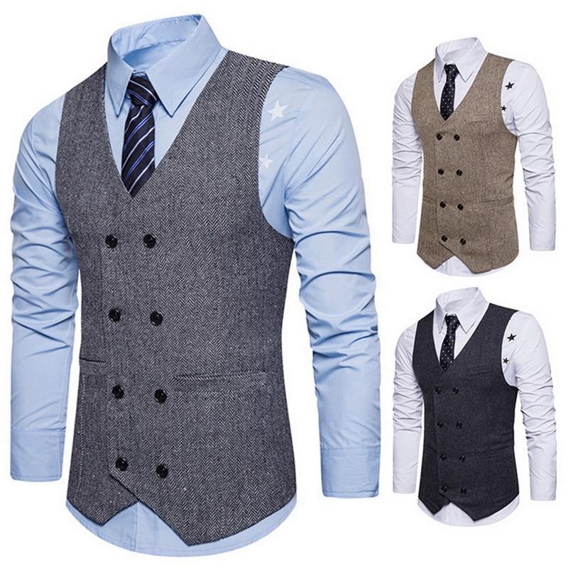 Fashion Spring Autumn Plus Size Soild Waistcoat