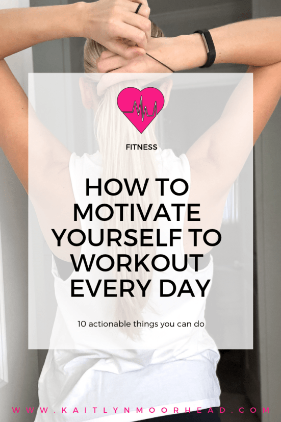 Are you looking for inspirational tips to get you motivated to stick to a workout routine? In this article I share 10 easy tips that can help you stick to a fitness plan, lose weight, + reach your wellness goals. This post is great for beginners that want to work out more at a gym or at home! Weight loss doesn't have to be complicated or difficult. It's all about creating a healthy lifestyle with sustainable habits that are easy to stick to. #workoutmotivation #fitnessinspiration #weightloss