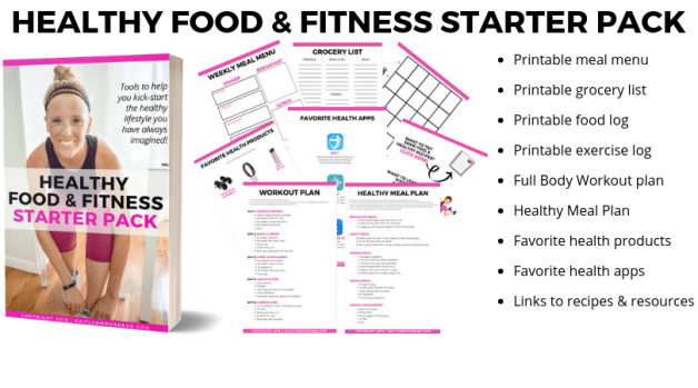 HEALTHY FOOD AND FITNESS STARTER PACK