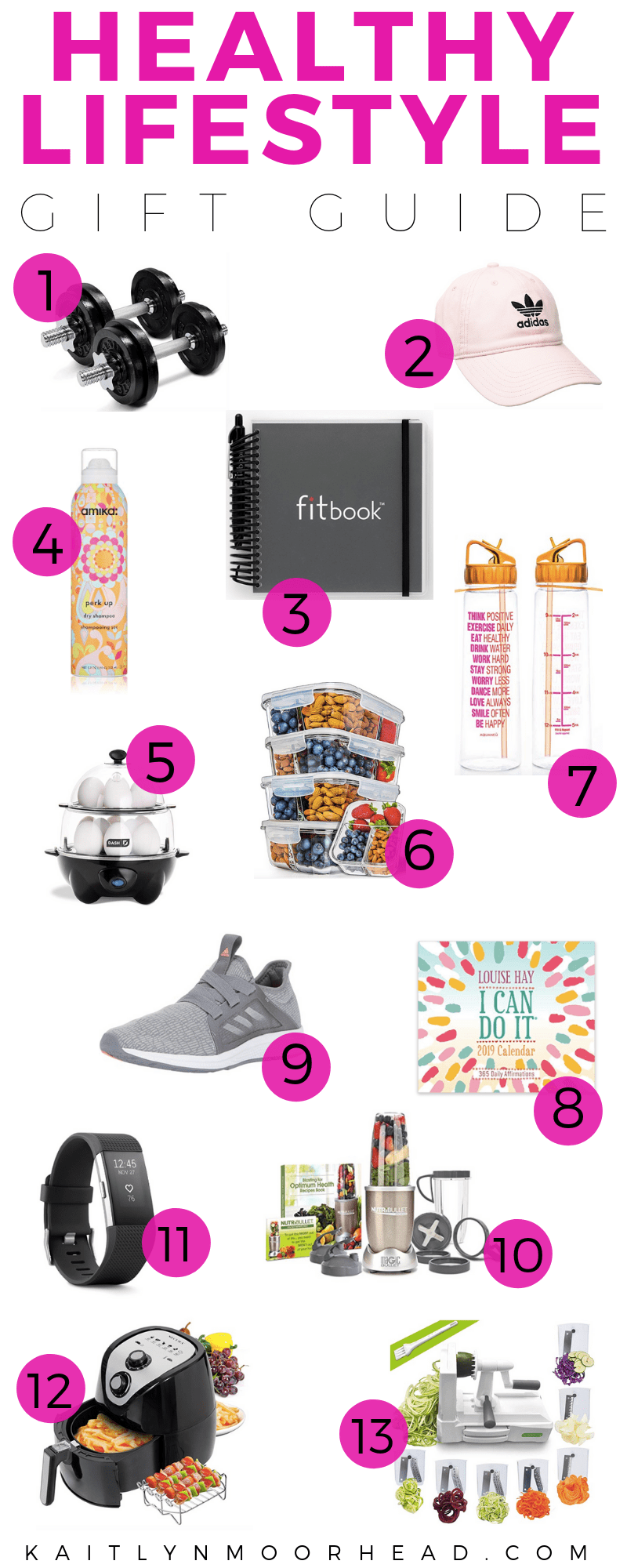 Gift Guide: For the Girl Who Lives a Healthy Lifestyle | Gift Guide for Her, Holiday Gift Guide for Her, Gift guide for girlfriend, gift guide, for mom, gift guide for sister, gift guide for a healthy lifestyle, holiday gift guide 2018, holiday gift guide fitness, holiday gift ideas for women, holiday gift ideas for girlfriend, gift ideas for wife, gift ideas for girlfriend, fitness gift guide, healthy lifestyle gift guide, fitness gifts for women #giftideas #giftguide #holidaygifts #holidaygiftguide