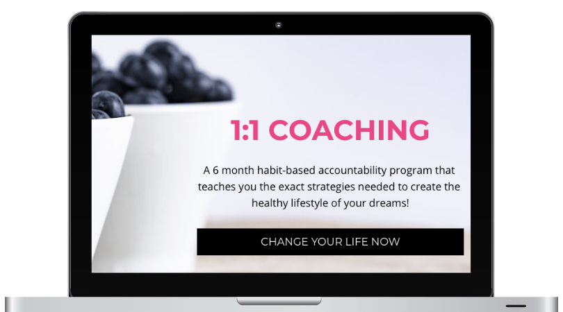 1:1 COACHING PROGRAM