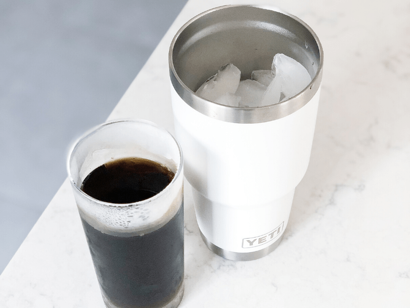 Homemade Iced Coffee Hack
