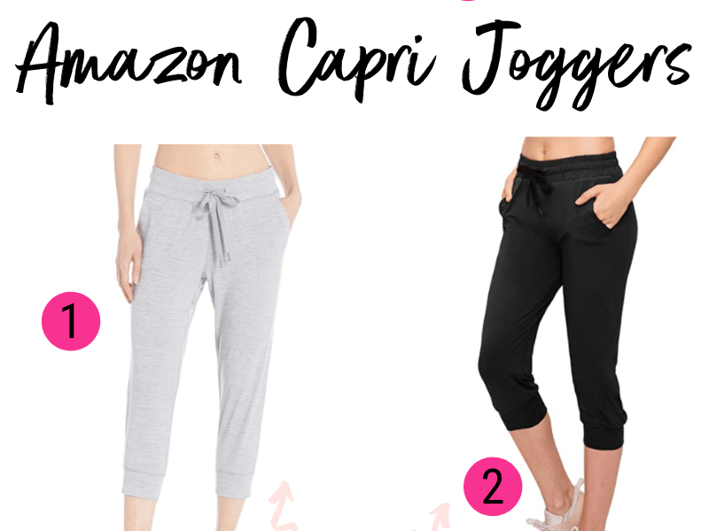 THE BEST AMAZON CAPRI JOGGERS_ KAITLYN MOORHEAD