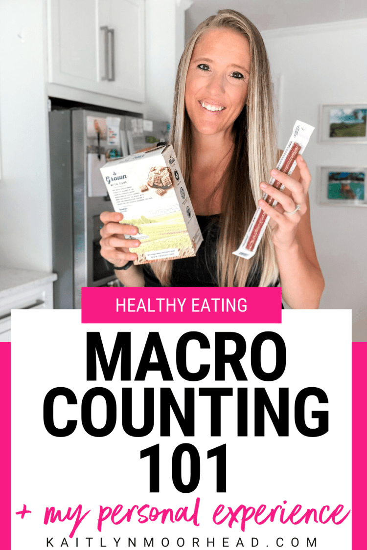 In this post is everything you need to know as a beginner for macro counting for fat + weight loss. It should be used as a way to balance your daily intake of food so you can lose body fat safely + tone your body effectively [+ quit dieting for good!]. I share exactly how to calculate your macros in 30 seconds using a macro calculator so you can see + feel results fast. I also teach you the easiest way to track your macros, how long you should track, + the app I personally use to track mine!