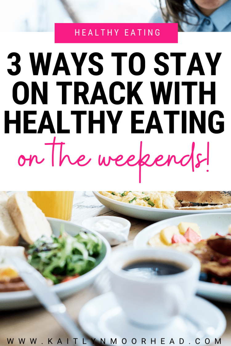 Do you struggle every weekend with staying on track with your diet? In this article I give 3 of my best strategies for eating healthy during the weekend while still indulging! I go over habits you can create to make healthy eating a habit so you can lose weight and get in shape not only faster, but maintain your results long-term. The fastest way for lifelong fat loss is consistency with a clear plan that you can stick to every week. Click to get my 3 tips so you can stay on track every week!