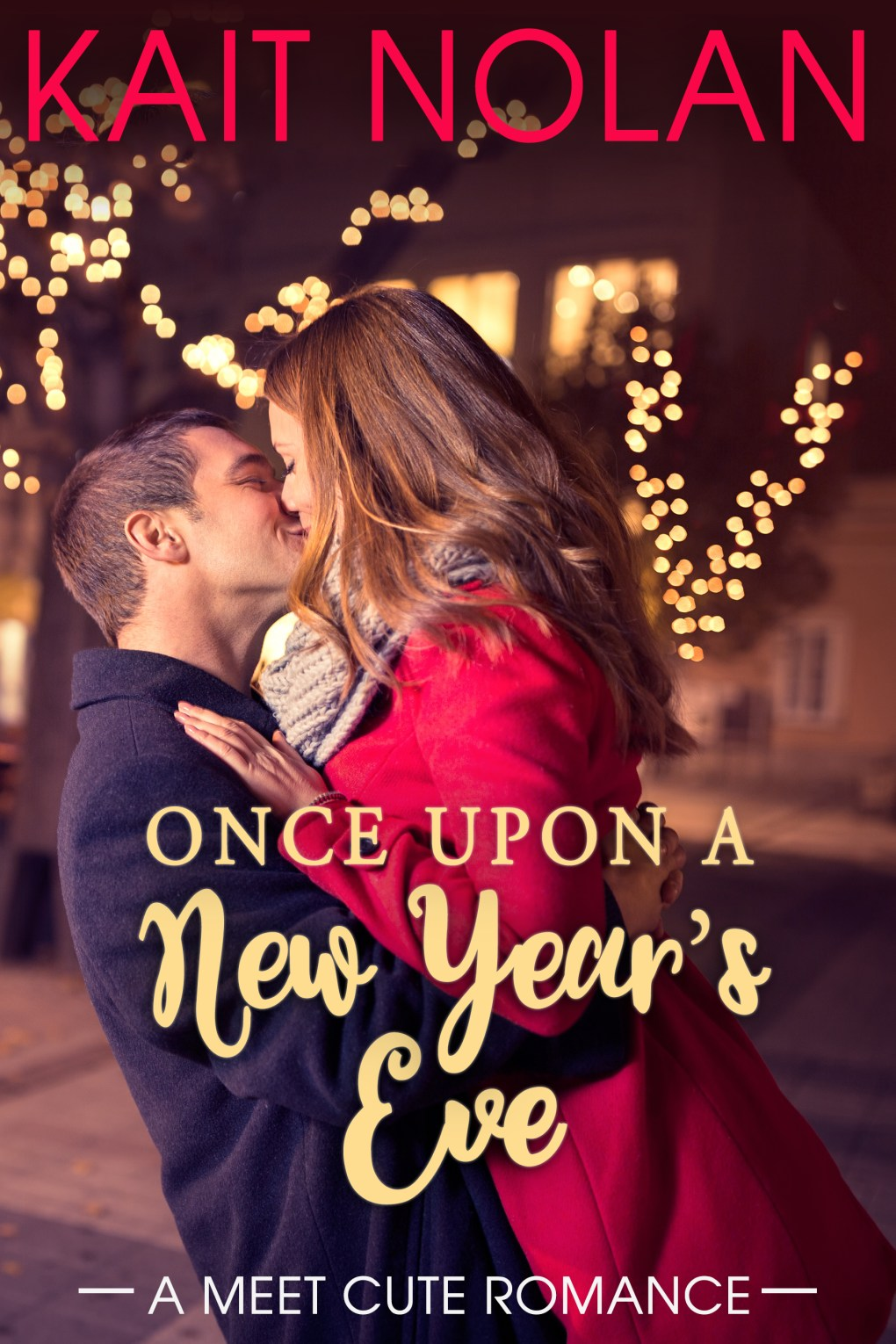 Book Cover: Once Upon A New Year's Eve