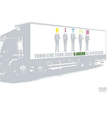 TOKIO LIVE TOUR 2002 5 AHEAD in 日本武道館の画像