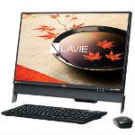 NEC LAVIE Desk All-in-one DA370/FAB PC-DA370FAB ファインブラックの画像