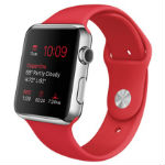 Apple Watch 42mm (PRODUCT) REDスポーツバンド MLLE2J/Aの画像