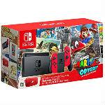 Nintendo Switch本体 スーパーマリオ オデッセイセットの画像