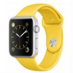 Apple Watch Sport 42mm イエロースポーツバンド MMFE2J/Aの画像
