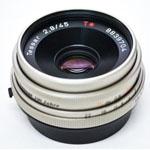 CONTAX テッサー 45mm F2.8 MM Japan 100jahreの画像