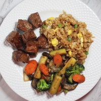 Hibachi Steak and Veggies