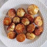 Crispy Roasted Ranch Potatoes