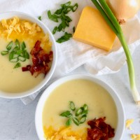 Small Batch Baked Potato Soup