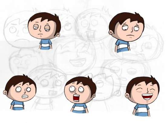 Boy Expressions (Character Design)
