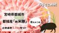 ふるさと納税で大人気!宮崎県都城産「お米豚」ときめき3.7kgセット