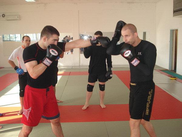 Mark Lajhner na MMA instruktorskom kursu