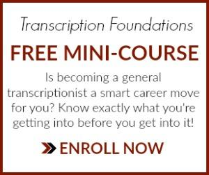 learn Transcription