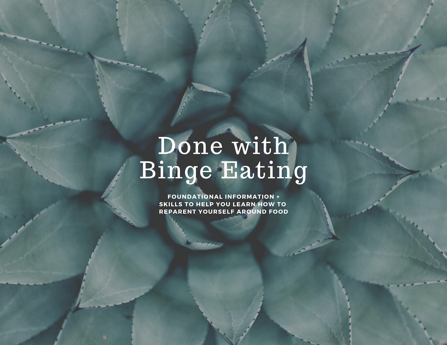 Done With Binge Eating