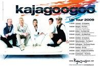 Kajagoogoo Tour poster 2009