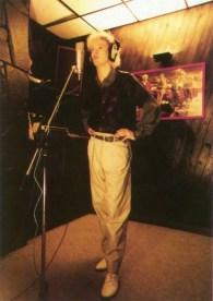 Nick in the studio, 1984