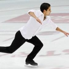 Ian Martínez y la danza sobre el hielo