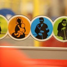Estar embarazada y usar el transporte público