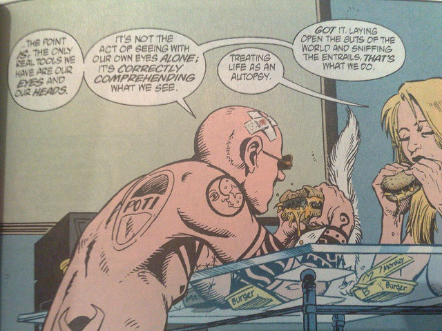Spider Jerusalem in TransMet Vol. 2 by Whatleydude. Flickr-CC BY 2.0