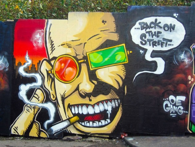Transmetropolitan by Alister. Flickr-[CC BY-NC-ND 2.0]