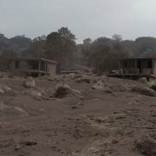 El futuro cementerio a las faldas del volcán