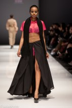 Curlene Charles Robinson from the University of Trinidad and Tobago's Fashion and Design Program