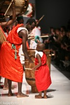 The amazing African Drummers who opened Dare's show