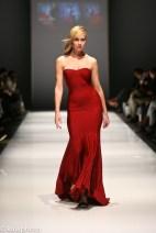 Former Chanel Model Natalia Belanger wears Dare