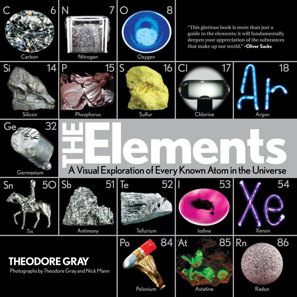 ตารางธาตุ สวยๆ ด้วยรูปถ่ายของจริง โดย ธีโอดอร์ เกรย์ (Theodore Gray: the Elements) (4/6)