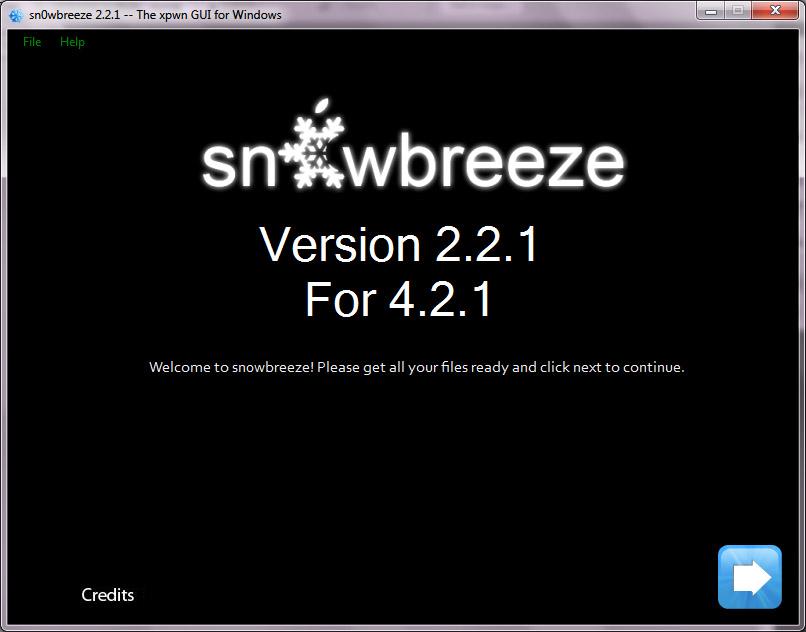 เจลเบรค iPhone 3G iOS 4.2.1 เบสแบนด์ 06.15 ด้วย Sn0wbreeze 2.2.1 (3/6)