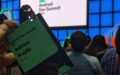 Android Dev Summit 2019 – my recap