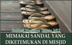 Kehilangan Sandal Di Masjid, Bagaimana Solusinya