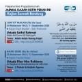 Jadwal Kajian Rutin online KSB Pekan ke-2 September