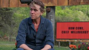 Frances McDormand, Three Billboard
