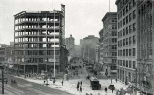 Rebuilding after 1906 earthquake