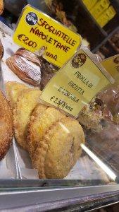 Sfogliatelle from Roscioli bakery.